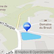 Carte de Domaine du Breuil Cognac, France