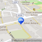 Map Guildford Taxis Guildford, United Kingdom