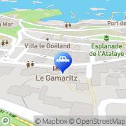 Carte de Saphir Biarritz, France
