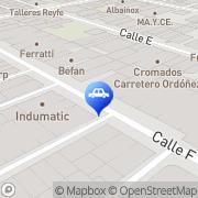 Map Distribución y Recambios Sotoca Albacete, Spain