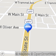 Map Larry's Automotive Bronte, United States