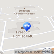 Map Freedom Buick GMC Truck Odessa, United States
