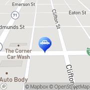 Map A & R Automotive Service. Brush, United States