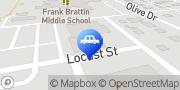 Map Carquest Auto Parts Colstrip, United States