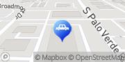Map Carquest Auto Parts Tucson, United States