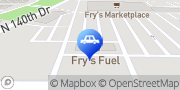 Map Fry's Fuel Center Surprise, United States