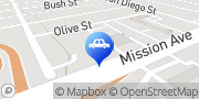 Map Terry's Auto Body & Paint Oceanside, United States