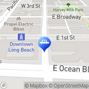 Map Budget Windshield Replacement Inc. Long Beach, United States