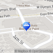 Map Brentwood Club Svc Los Angeles, United States