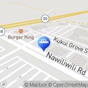 Map AutoZone Lihue, United States
