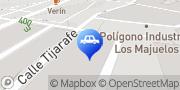Map Land Rover Imdicasa Santa Cruz de Tenerife, Spain