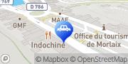 Carte de Parking Indigo Morlaix De Gaulle Cornic Morlaix, France