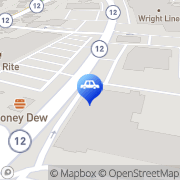 Map Harr Toyota Worcester, United States