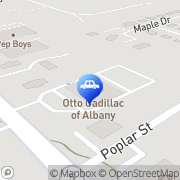Map Otto Cadillac Albany, United States