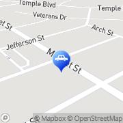 Map Joshua Motor Car Company Palmyra, United States