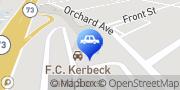 Map F.C. Kerbeck Aston Martin Palmyra, United States
