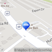 Map Autobell Car Wash Newport News, United States