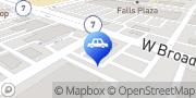 Map Beyer Kia Falls Church, United States