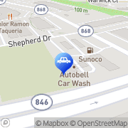 Map Autobell Car Wash Sterling, United States