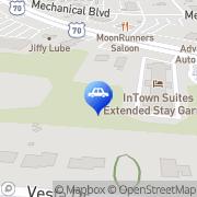Map Autobell Car Wash Garner, United States