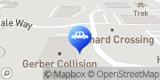 Map Gerber Collision & Glass Cary, United States