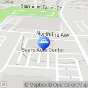 Map Sears Auto Center Greensboro, United States