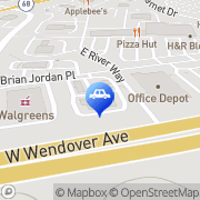 Map Tidal Wave Auto Spa of High Point High Point, United States