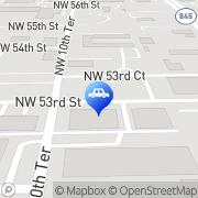 Map Hamilton Family Auto Repair Fort Lauderdale, United States