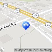 Map Autobell Car Wash Monroe, United States