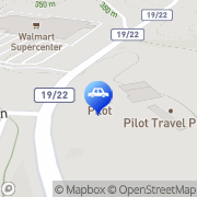 Map Pilot Travel Center Sutton, United States