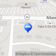 Map Autobell Car Wash Charlotte, United States