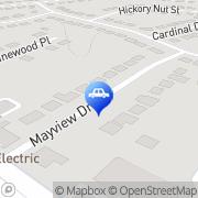 Map Auto Convenient Mobile Detailing Charlotte, United States