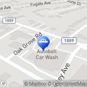 Map Autobell Car Wash Charlotte, United States