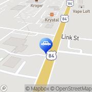 Map Auto Shine Car Wash Hinesville, United States