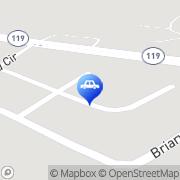 Map Bradham's Commercial & Auto Repair Hinesville, United States