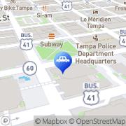 Map Honest1 Auto Care Tampa, United States