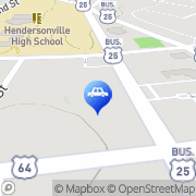 Map Autobell Car Wash Hendersonville, United States
