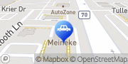 Map Meineke Car Care Center Dublin, United States