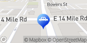Map Clawson Towing Clawson, United States
