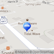 Map Tidal Wave Auto Spa of Milledgeville Milledgeville, United States