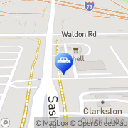 Map Clarkston Auto Body & Towing Inc Clarkston, United States