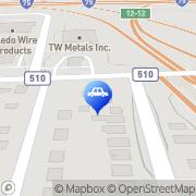 Map CJ's Auto Store LTD Toledo, United States