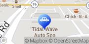 Map Tidal Wave Auto Spa of Warner Robins Kathleen, United States