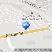 Map Autobell Car Wash Snellville, United States