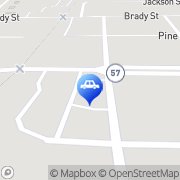 Map Heritage Tire & Service Chesaning, United States