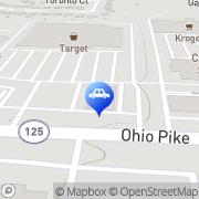 Map Ziebart Cincinnati, United States