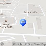 Map Joseph Buick GMC Cincinnati, United States
