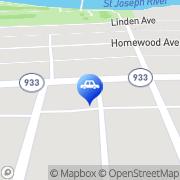 Map Kyle's; Auto Repair Inc Mishawaka, United States