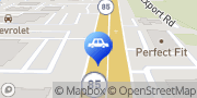 Map HUB City Ford Crestview, United States