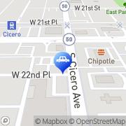 Map Premier Auto Mall Cicero, United States